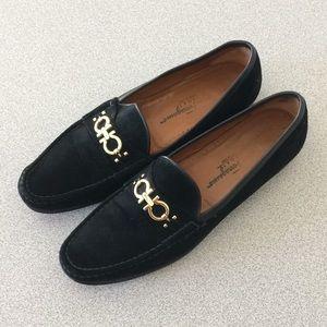 Salvatore Ferragamo Suede Loafer Shoes